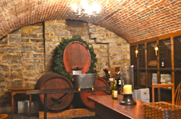 Hermannhof Winery Cellar