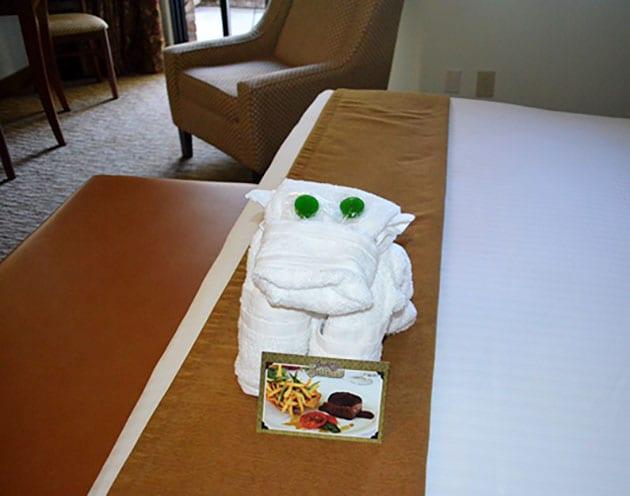 Cow Towel Mascot