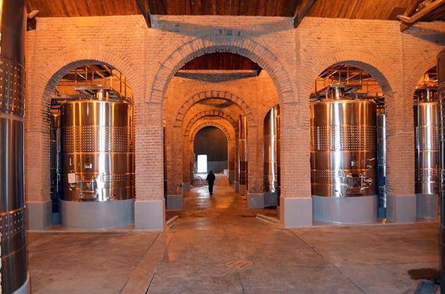 Inside Terrazas de Los Andes Winery Luján De Cuyo