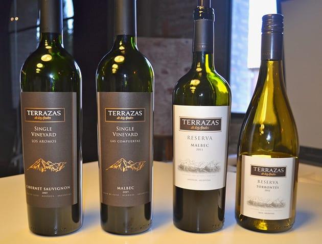Terrazas de Los Andes Wines