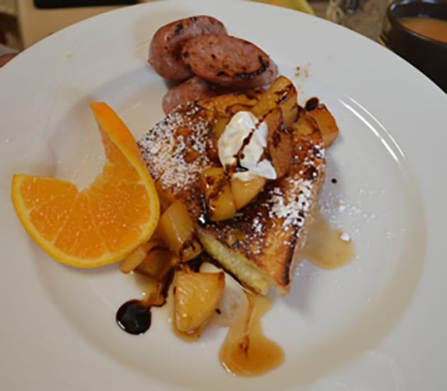 French Toast at Eden Vale Inn