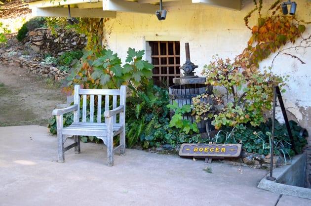 Boeger Winery El Dorado County