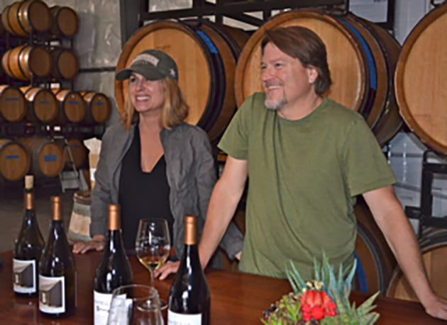 Mark and Wendy Horvath, Crawford Family Wines