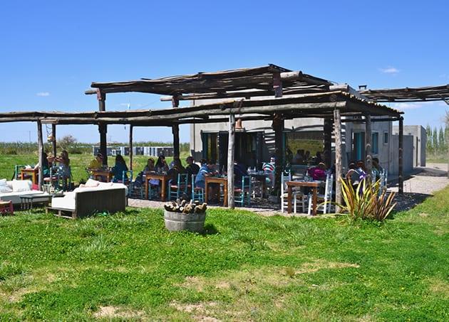 Lunch at La Azul