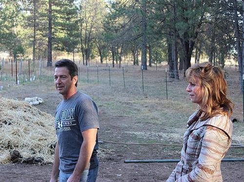 Frank and Teena Hildebrant, Owners Narrow Gate Vineyards