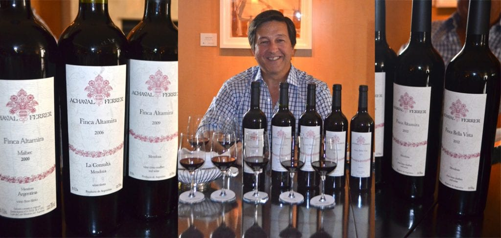 Santiago Achaval, Achaval Ferrera Argentine Malbec