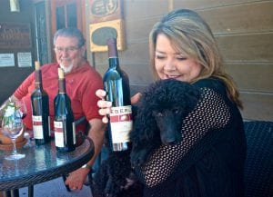 Sangiovese and Marcy Eberle