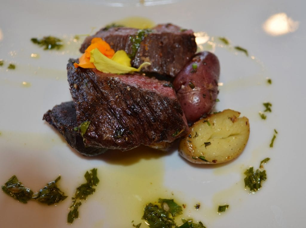 Hotel Angeleno's West Restaurant Skirt Steak