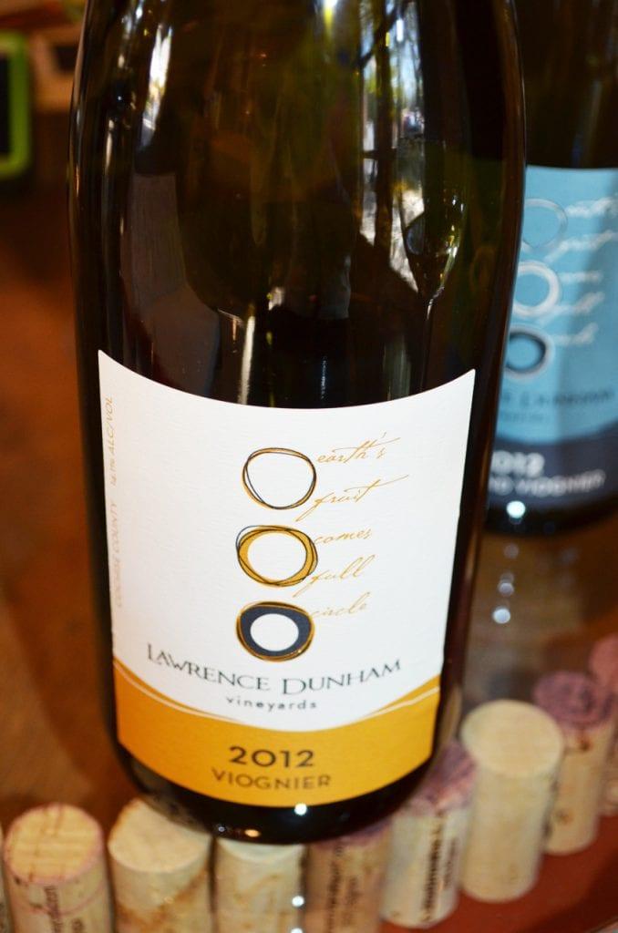Lawrence Dunham Vineyards Viognier