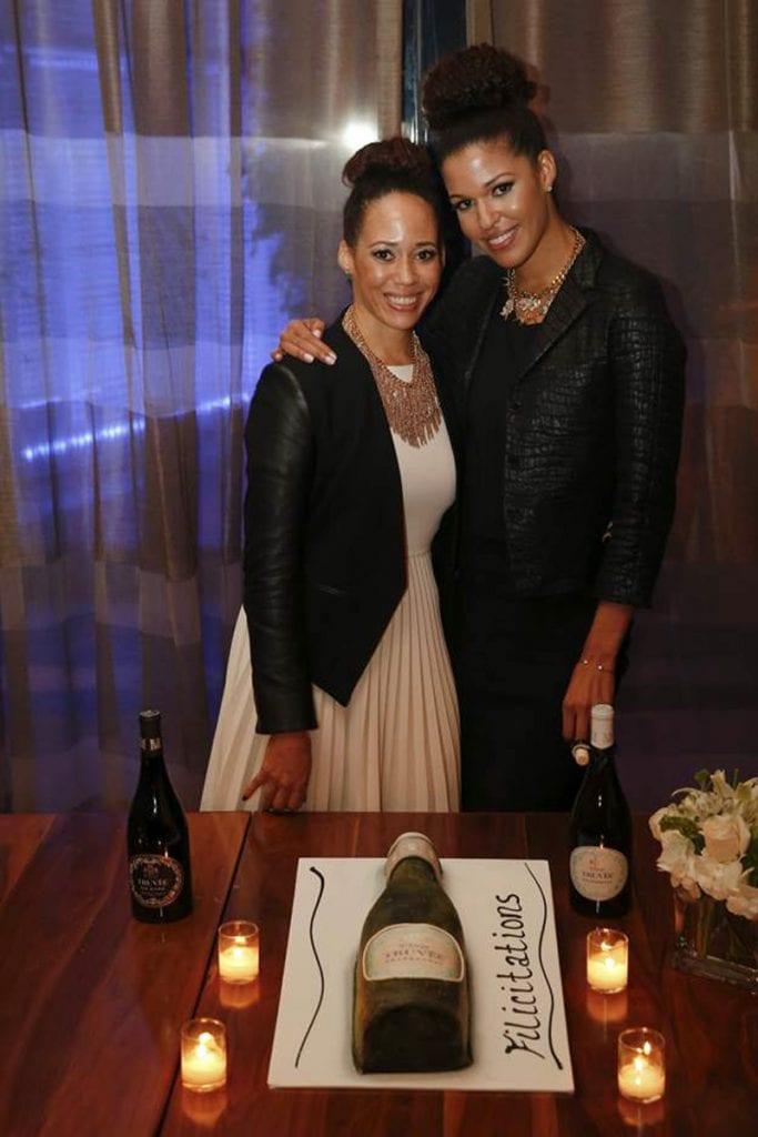 The McBride sisters Truvée Wines LA Launch Party