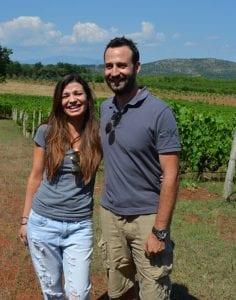Christos Taralas and Nikoleta Tarala