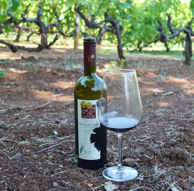 Elinos Vineyards Local Red