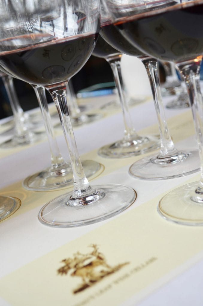 Stag's Leap Wine Cellars - The Art of Aging Wine Tasting