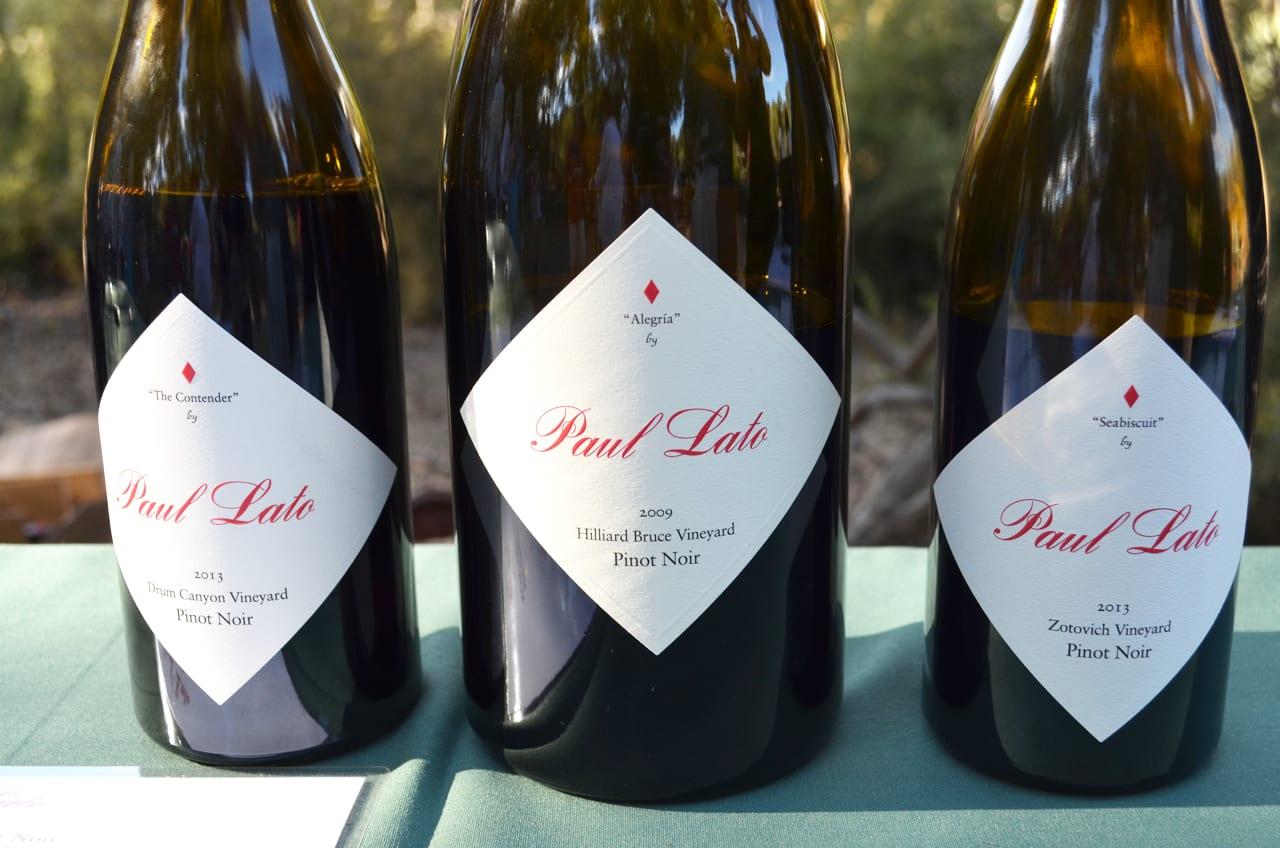 Paul Lato Wines - Wine and Fire