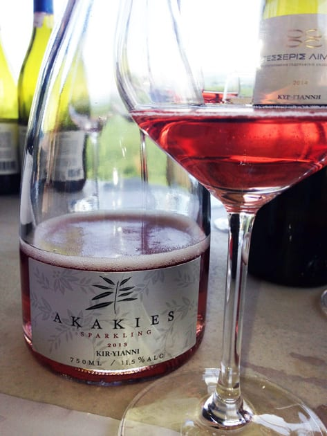 Kir-Yianni Akakies Sparkling Wine