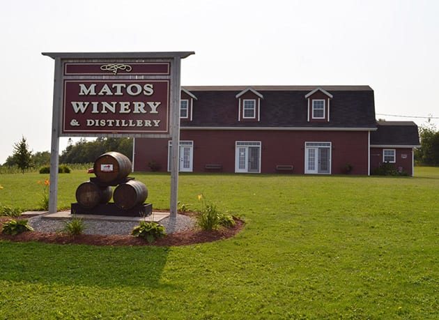 Matos Winery Prince Edward Island