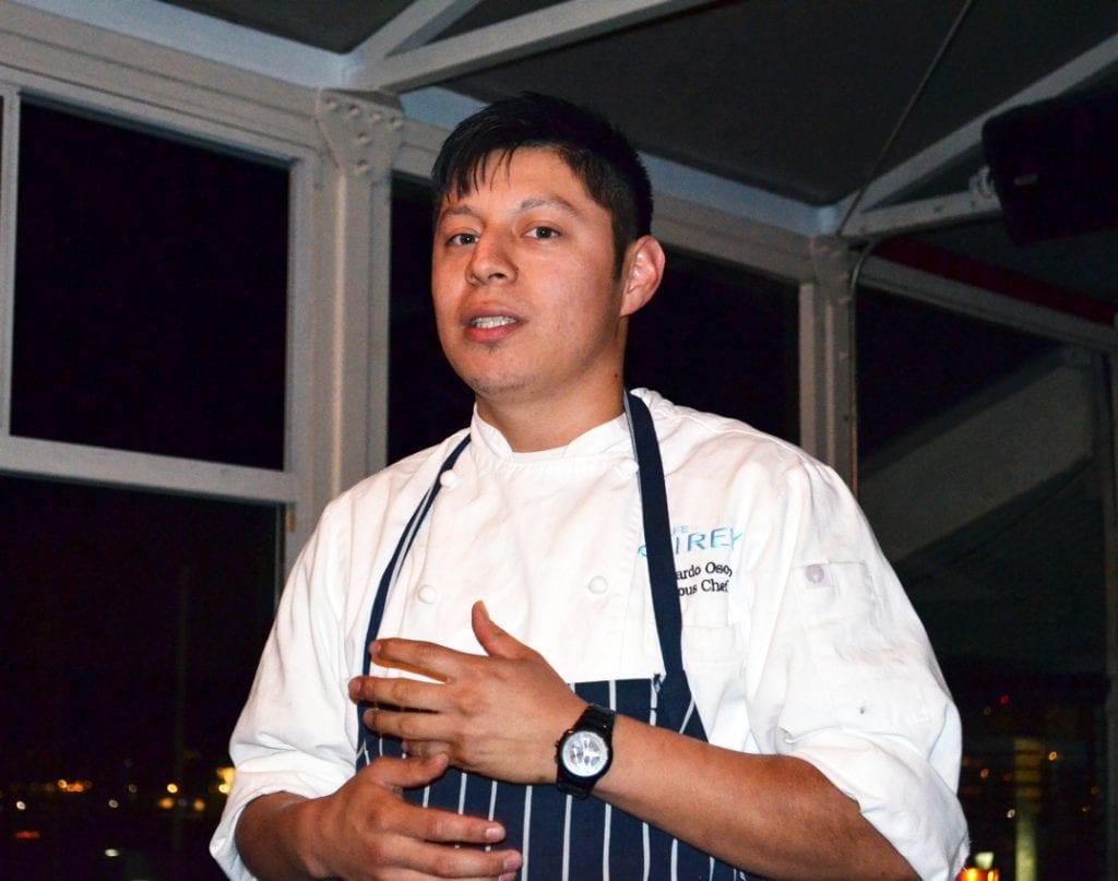 Chef Eduardo Osorio