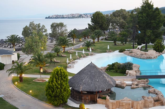 Sunrise at Porto Carras Grand Resort