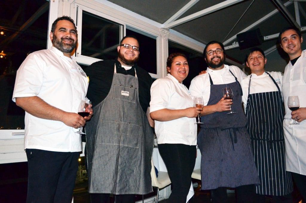 Toasting the Chefs Marina Del Rey Cafe Del Rey
