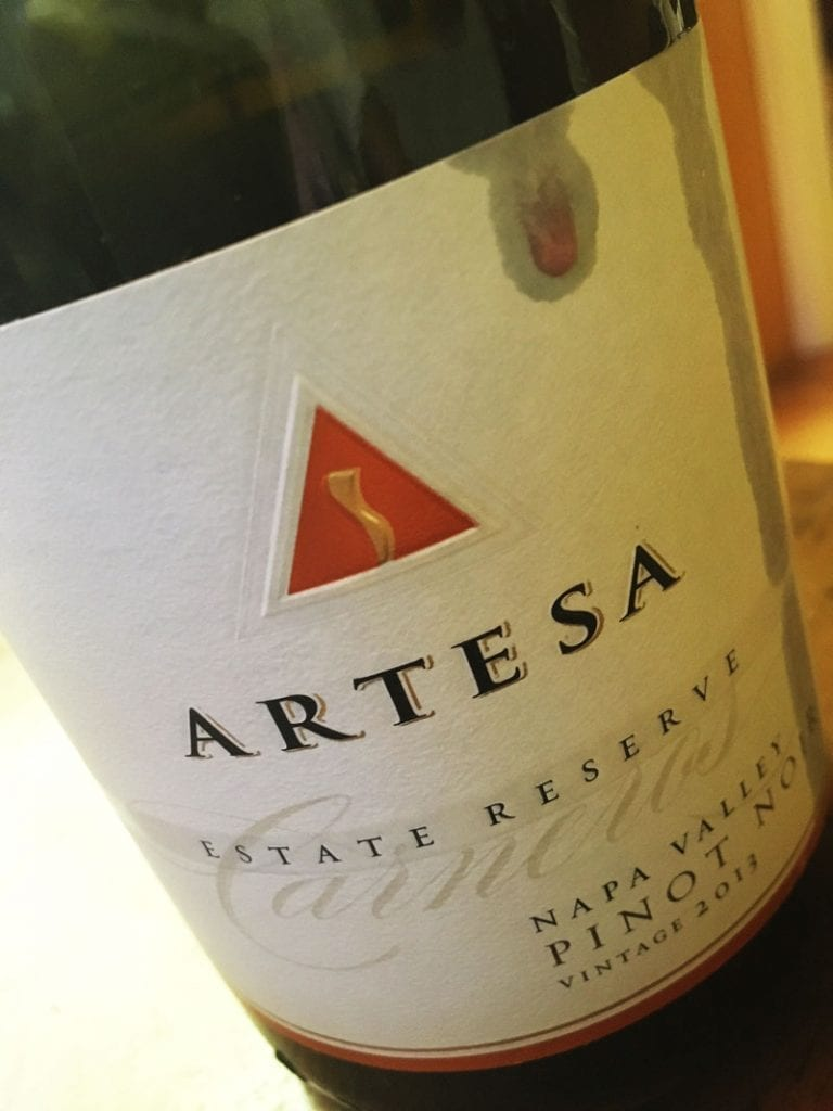 Artesa Pinot Noir