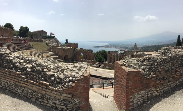 Taromina Ancient Greek Theater