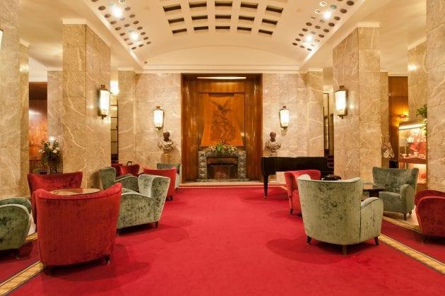 Rome Hotel Mediterraneo Lobby