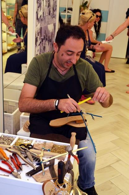 Making Shoes in Taormina