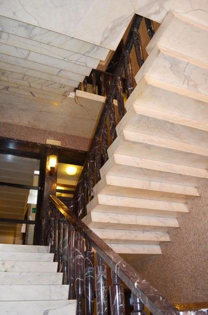 Hotel Mediterraneo Marble Stairwell