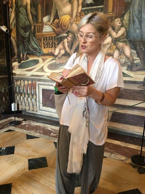 Touring Rome- Docent Lauren Golden