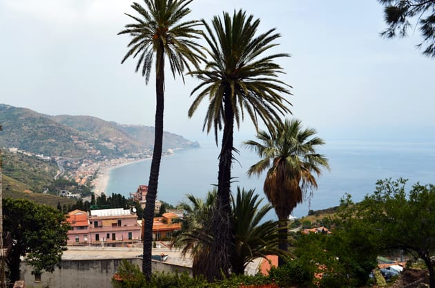 View of the Coast from Taormina