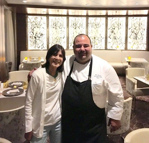 Celebrity Reflection Chef Tato Garcia