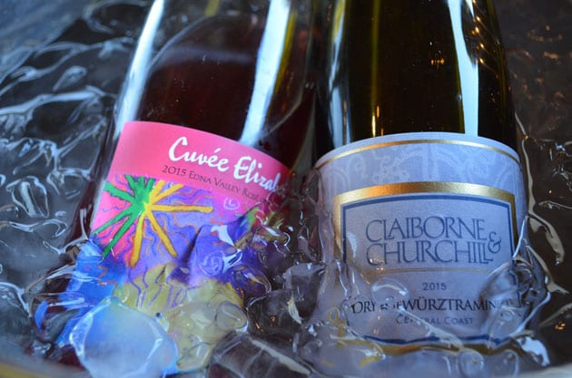 Claiborne & Churchill Rosé and Gewurztraminer