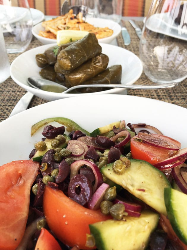 Celebrity Reflection Mediterranean Dinner