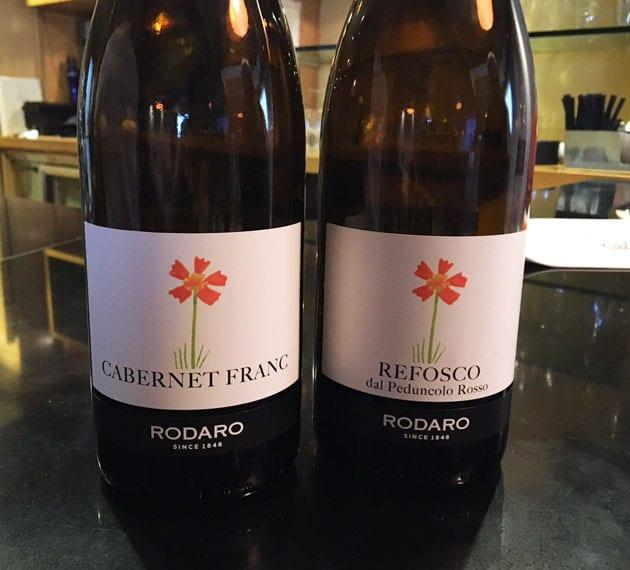 Rodaro Reds, Cabernet Franc, Refosco