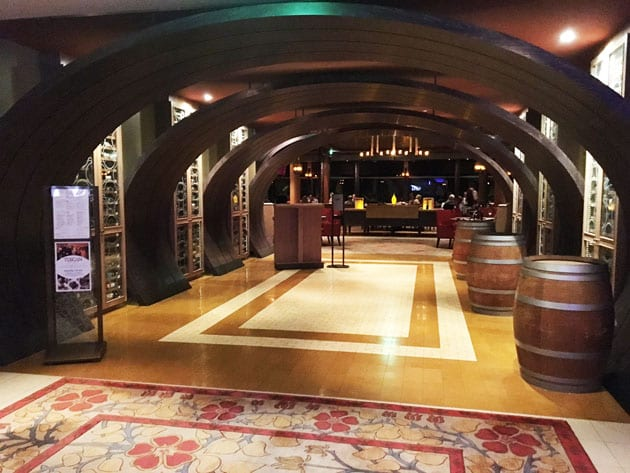Celebrity Reflection Tuscan Grille Restaurant