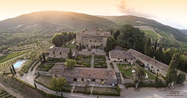Castello Di Meleto Castle Grounds