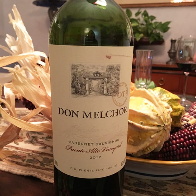 Holiday Wine Don Melchor Cabernet Sauvignon Puente Alto Vineyard