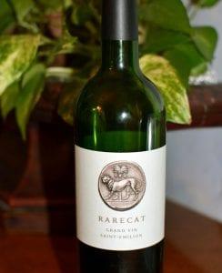 Rarecat Wines St Emilion