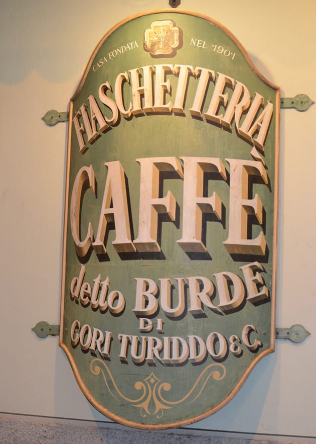 Osteria Trattoria Da Burde entrance Sign
