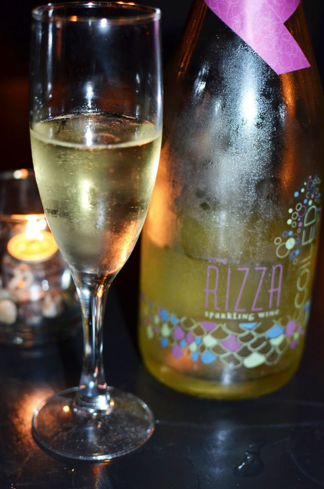 Coiled Rizza Sparkling Riesling