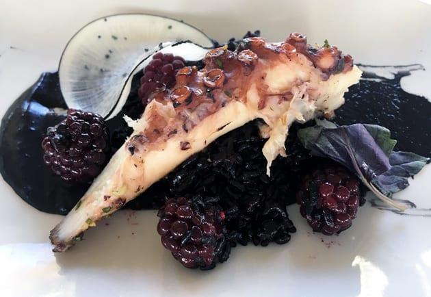 Cafe Del Rey Grilled Octopus