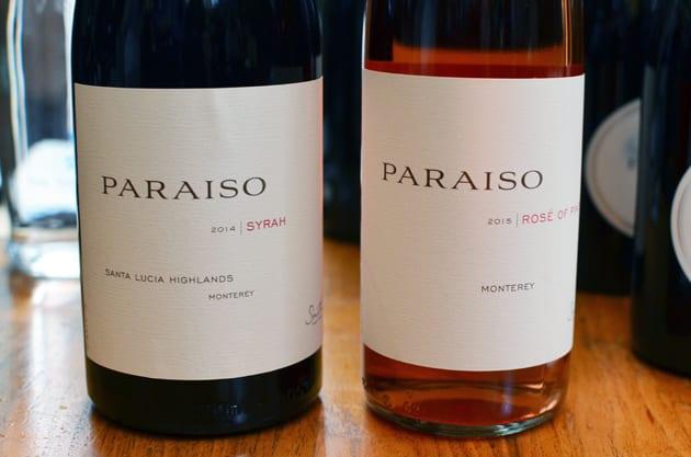 Paraiso Vineyards Syrah and Rosé