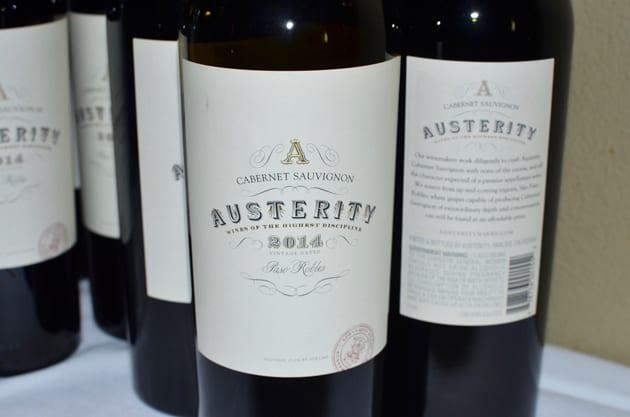Austerity Wines Cabernet Sauvignon
