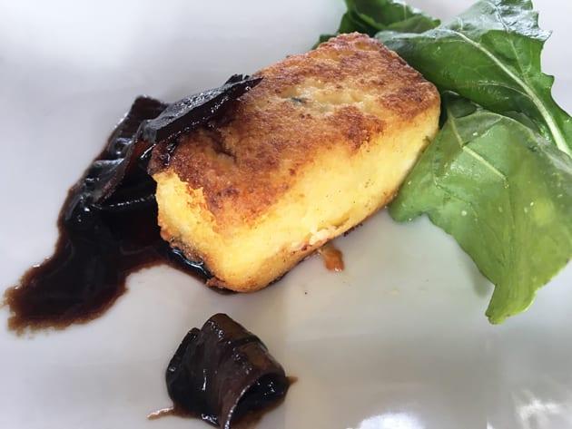 Cafe Del Rey Blue Cheese Polenta