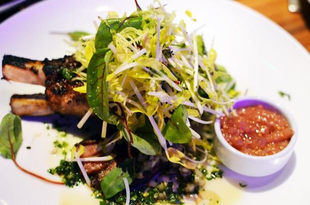 STK Steakhouse Restaurant Duroc Pork