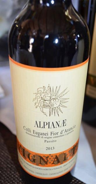 Vignalta Alpianae Colli Euganei Fior d'Arancio Passito