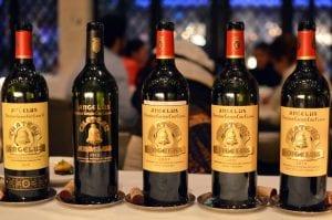 Chateau Angelus Saint-Emilion Vertical Wine Tasting