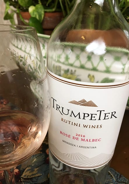 Rutini Wines Trumpeter Rose De Malbec