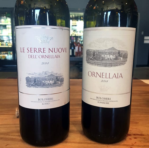 Red Wine from Ornellaia