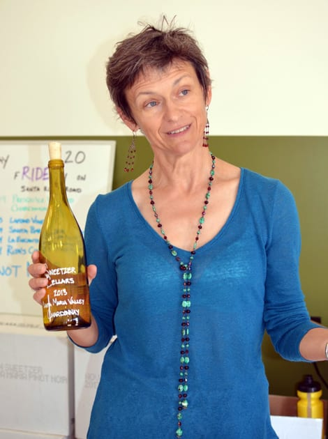 Lisa Liberati at the Sweetzer Cellars Tasting Room